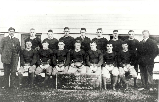1917 University of Oregon Rose Bowl Champions