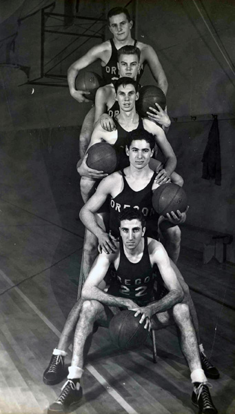 1939 University of Oregon - Basketball