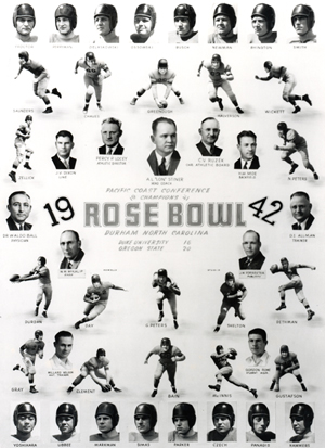 1942 OSU Rosebowl