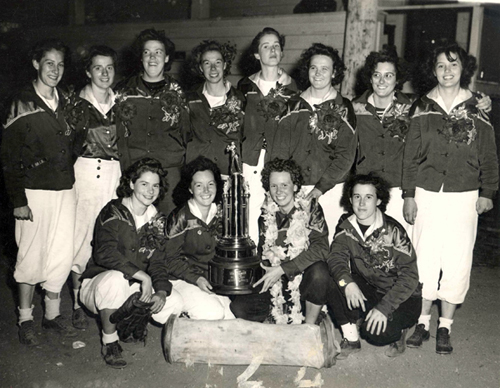 1944 Lind and Pomeroy Florists World Softball Champions