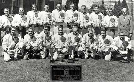 1948-49 OSU Basketball Team