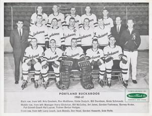 1960-61 Portland Buckaroos