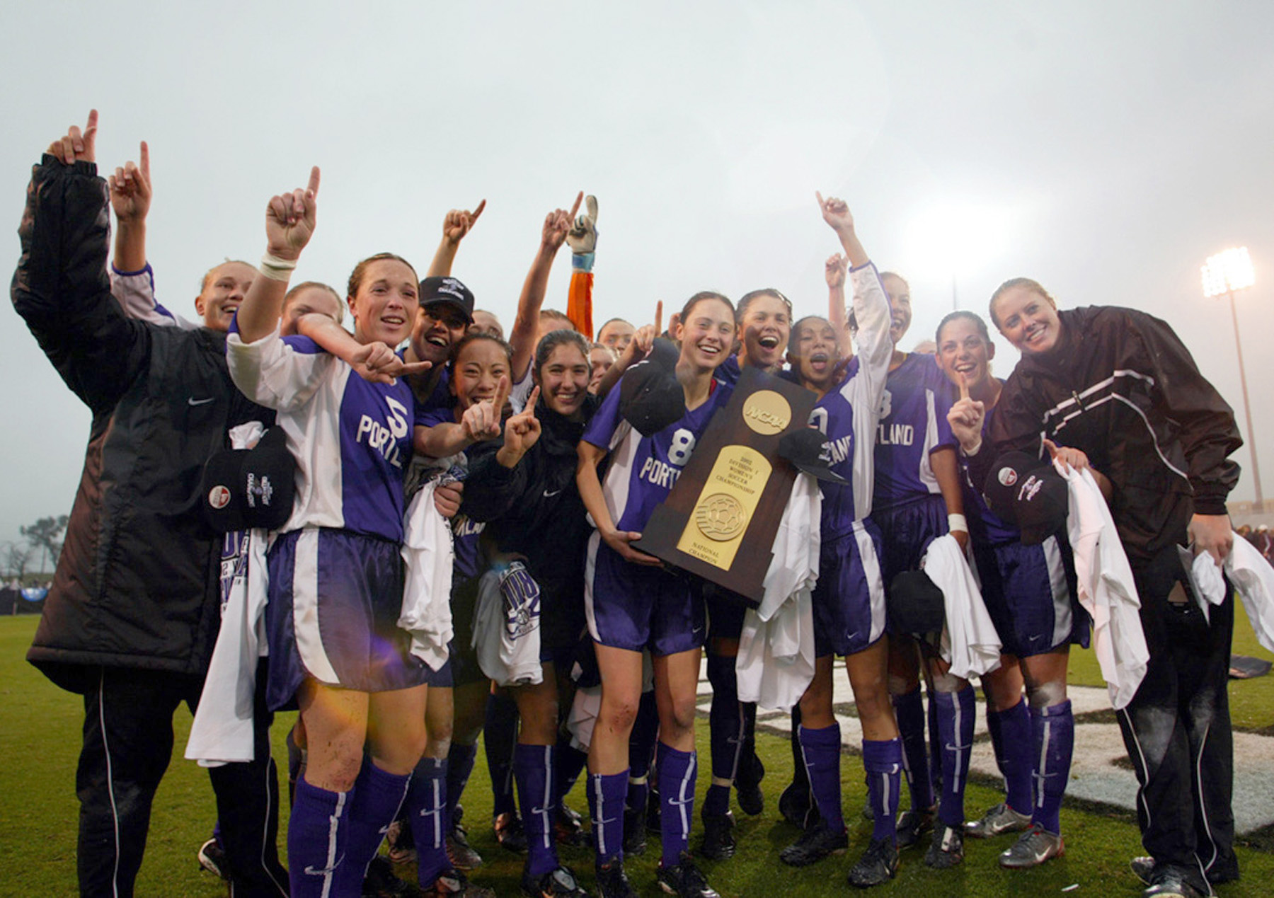 2002 University Of Portland Women S Soccer Team Oregon