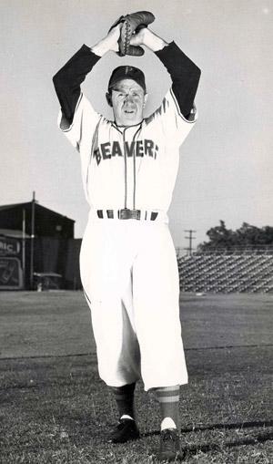 Roy Helser Baseball Oregon Sports Hall Of Fame Amp Museum